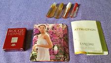 7x lotes de muestras de perfumes y usados (Hermes, Lancome, Guerlain, Ferragamo)