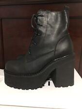 UNIF Choke Boots Women's Shoes Size 10 Goth Punk