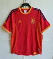 SPAIN NATIONAL TEAM 2002/2004 VINTAGE HOME FOOTBALL SHIRT JERSEY ADIDAS SIZE L