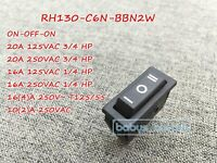 NEW Canal RH Series Rocker Switch On-Off-On 3 Position 20A-16A