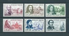 CÉLÉBRITÉS - 1960 YT 1257 à 1262 - TIMBRES NEUFS** LUXE