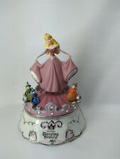 Disney Sleeping Beauty, Aurora's dance Porcelain Music Box Figurine collection