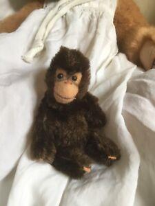 """STEIFF vintage miniature Jocko Monkey - 4"""""""
