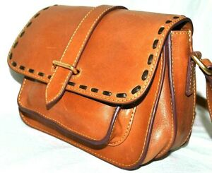 Dooney & Bourke Florentine Leather Binocular Crossbody, Natural  $338  A399533