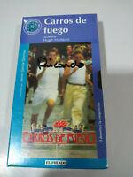 Carros de Fuego Hugh Hudson - VHS Cinta Español Nueva