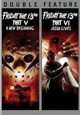 Friday the 13th Part V/Friday the 13th Part VI (DBFE) DVD, Various, Various