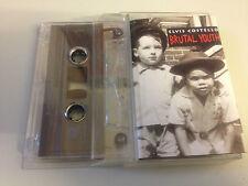 TAPE / CASSETTE - ELVIS COSTELLO - BRUTAL YOUTH - inc Sulky Girl - album LP
