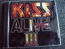 KISS-Alive 3 CD-Made in USA-with German ZZ Logo