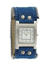 orologio donna Nele Fortados bracciale in jeans  b747