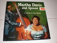 Martha Davis/Spouse LP A Tribute To Fats Waller