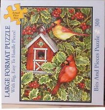 HOLLY HOUSE BY LORRAINE RYAN BITS AND PIECES LARGE PIECES PUZZLE
