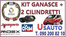 KIT GANASCE FRENO + 2 CILINDRETTI PER SMART FOR TWO 600-700- E CDI