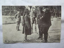 WORLD WAR I POSTCARD DAILY MAIL OFFICIAL WAR BATTLE PICTURES SIR D HAIG No 49