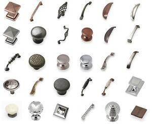 HeavyDuty High Quality Kitchen Handles Copper, Crystal, Rustic, Internal Handles