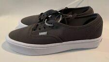 VANS Gray Canvas Shoe Men 6.5/awomen 8.0 Unisex NEW