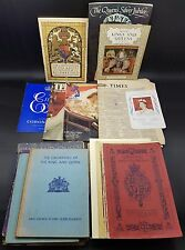 More details for collection of royalty ephemera including coronation newspaper, programme etc