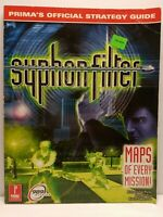 Syphon Filter Prima Official Strategy Guide Game Book 1999 PS1 Playstation 1
