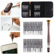 25 in1 Screwdriver Set Opening Repair Tools Kit for iPhone 6 5 Cellphone Watch