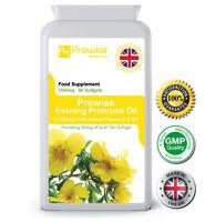 Evening Primrose Balance+ Oil 90 Cap 1000mg Rich Source of GLA UK Made - Prowise