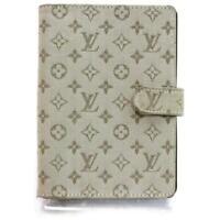 Louis Vuitton Khaki Monogram Mini Lin Diary Cover Agenda PM 872106