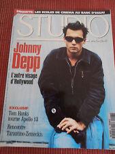 STUDIO MAGAZINE CINÉMA JOHNNY DEPP  N 98 ANNÉE 1995 ( C2 )