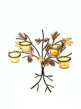 Fall Themed Candle Holders - Stand Up Tree Candle Holder Brand New