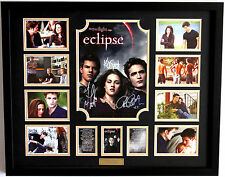 New Twilight Eclipse Signed Limited Edition Memorabilia Framed