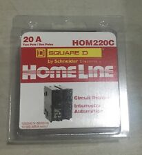 NEW 20A HOM220C 2Pole Square D