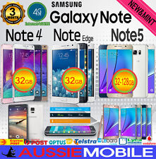 AS NEW & USED SAMSUNG GALAXY NOTE 5 NOTE 4 NOTE EDGE 32GB +128GB LTE 4G UNLOCKED