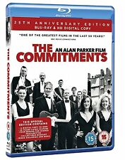 THE COMMITMENTS di Alan Parker 25th Anniversary Edition BLURAY in Inglese NEW.cp