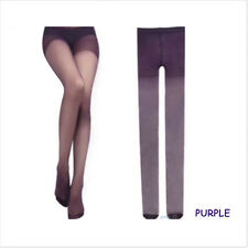 Sheer Diverse Candy Solid Color Transparent Pantyhose Tights Stockings Fashion