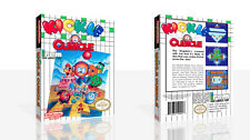 Kickle Cubicle NES Replacement Spare Game Case Box + Cover Art Work (No Game)
