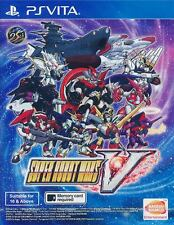 Super Robot Wars V 5 PS VITA PSV (ENGLISH) Asia Physical Card IN STOCK w/ DLC