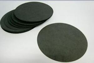 Camlab Round Black Filter Paper 240mm Pack 100  -------------