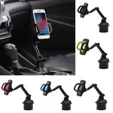 Adjustable Angle Car Cup Holder Cellphone Mount Stand Cradle for Mobile Phones