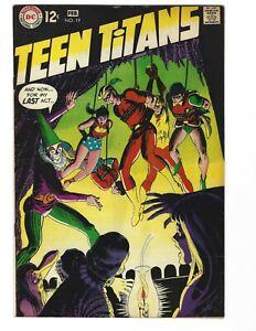 Teen Titans #19(Feb 1969-DC)VF Very nice 1 owner book. Speedy joins Teen Titans