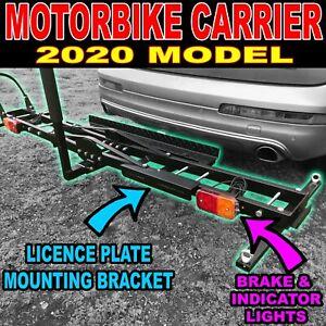 Motorcycle Motorbike Carrier Rack Towbar Arm Rack Dirt Bike Ramp - Brake Lights