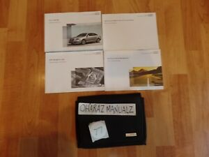2011 AUDI A6  Owner Owners Owner's Manual OEM