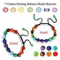 des bracelets le yoga perles bangle 7 chakra bracelet la pierre naturelle