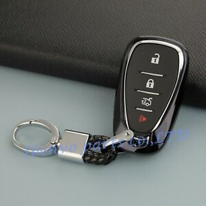 TPU Black Car Key Holder For Chevrolet Equinox Camaro Malibu Cruze Accessories