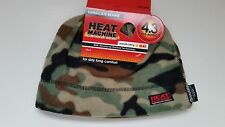 HOMMES BONNET HEAT MACHINE THINSULATE FORÊT CAMOUFLAGE TAILLE UNIQUE 4.3 TOG