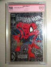 Spider-Man #1 Cbcs 9.8 Ss Signed Stan Lee 1990 Silver McFarlane Variant