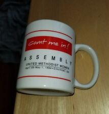 Assembly UNITED METHODIST WOMEN Cincinnati, Ohio Mug