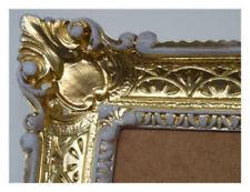 Portafotos y marcos decorativos blanco oro para el hogar