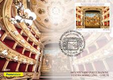 Italia 2018 : Teatro Marrucino ( Chieti ) - Cartolina Ufficiale Poste Italiane