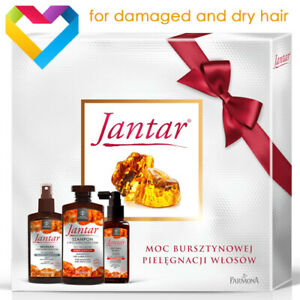 FARMONA JANTAR Hair Set For Damaged Dry Hair - Shampoo Conditioner Mist ZES0134N