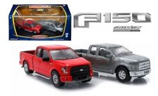 FIRST CUT 2015 FORD F-150 PICKUP HOBBY EXCLUSIVE SET 1:64 GREENLIGHT RED RAW GL