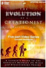 The Evolution Of A Creationist-Dr. Jobe Martin, 5 Part Series, 3 DVDs + Workbook