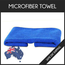 Microfiber Towel Gym Sport Footy Travel Camping Swimming Drying Microfibre -Blue