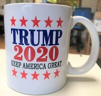 Donald Trump Keep America Great 2020 Campaign Coffee Mug Funny Cup Gift For Men